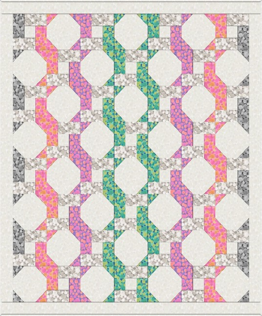 Bumbleberries SS18 Quilt Design 2