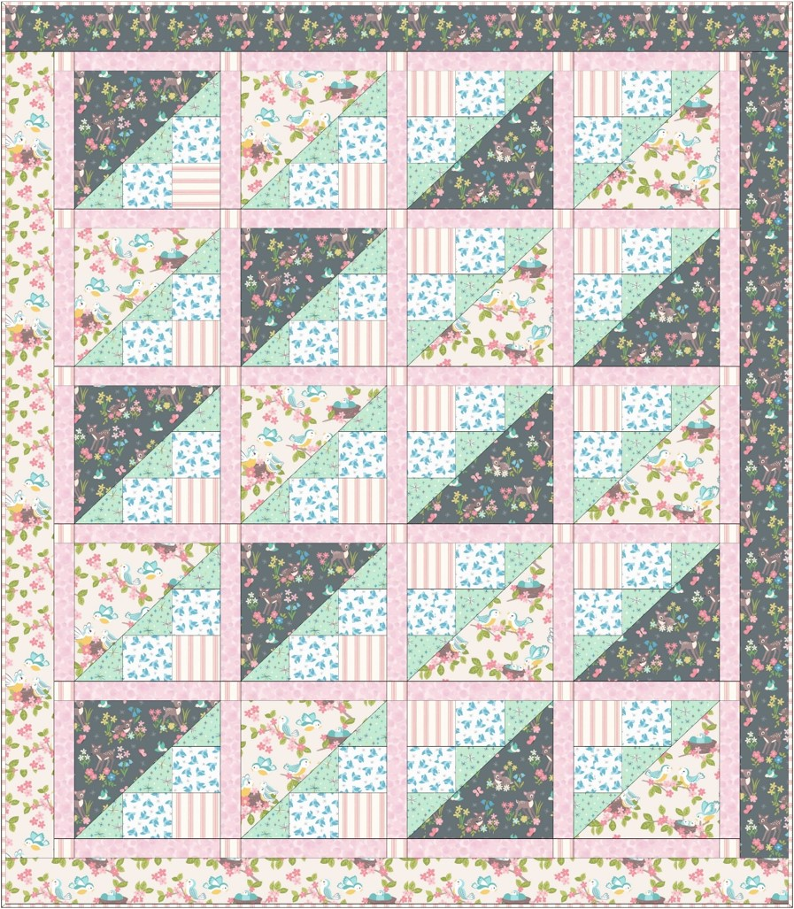 So Darling Quilt Design 3