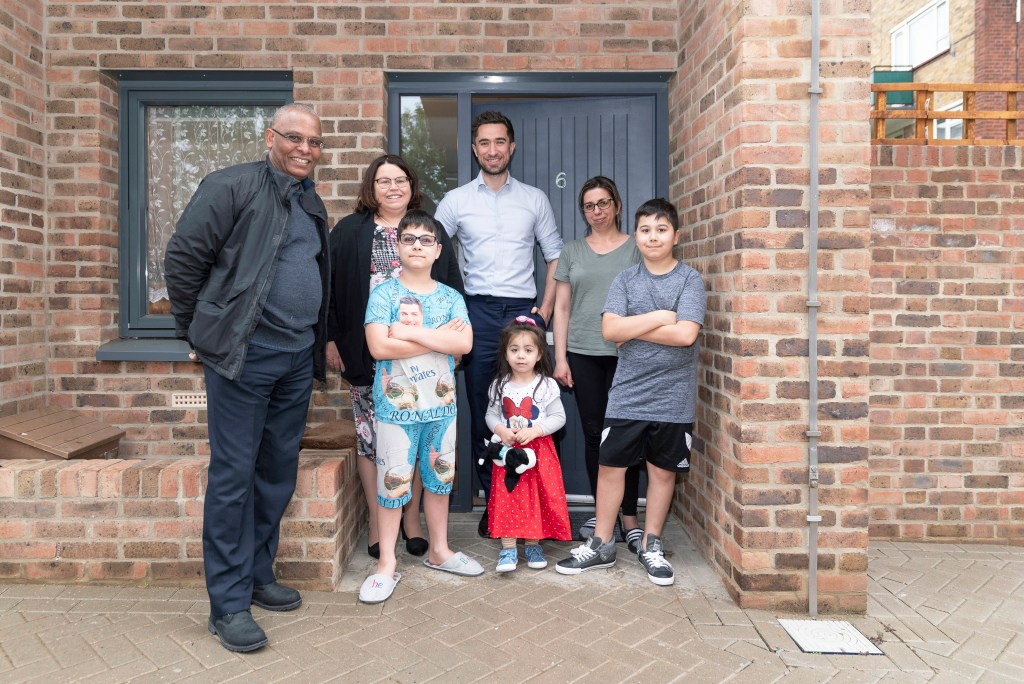 Mayor, Chair and Chief Exec meet residents