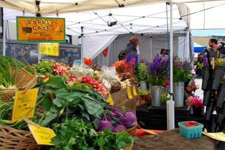 Chehalis Wobbly Cart Farmers market