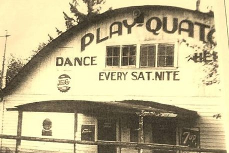 The builders and original owners of Playquato Dancehall were John and Ruby Marth. Their daughter, Sandy Marth-Hill, was Miss Washington in the 1966 Miss America contest. Sandy was also a co-host with David Hartman on Good Morning America starting in 1977. Photo courtesy: Steve Richert.