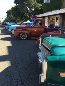 Entries at Hub City Car Show