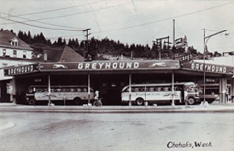 Chehalis bus station. Photo courtesy: Steve Richert.