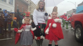 Get ready to party at this year's Santa Parade! Photo courtesy: Centralia-Chehalis Chamber of Commerce.