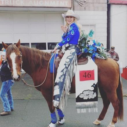 Rodeo Queen Chehalis Santa Parade