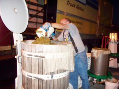 Wineries in Lewis County Processing Grapes at Heymann Whinery