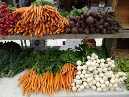 """""""I can't wait for the beginning of the Farmer's Market every year,"""" says Chehalis resident Freya Betts. """"Knowing where my food comes from and who grows it adds so much more to a meal. I love supporting local farmers and artisans, too. There is always a hidden gem to find!"""" Photo credit: Freya Betts."""