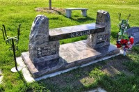 Memorial Benches - LEWISTON MONUMENT COMPANY
