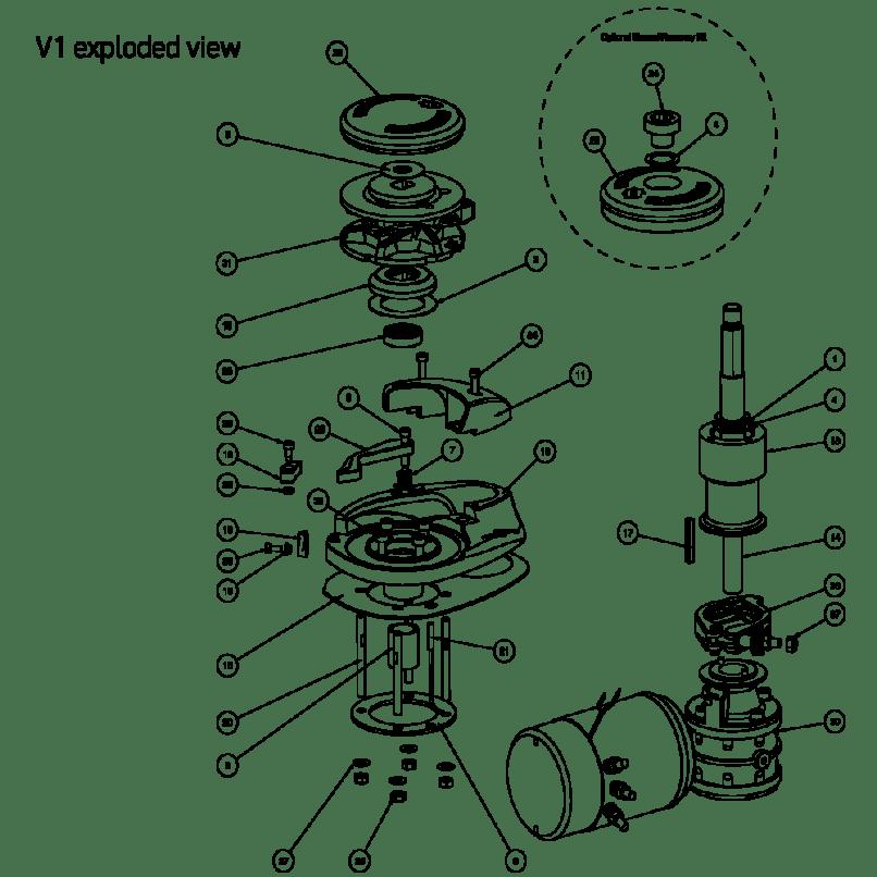 Lewmar Windlass Repair Parts
