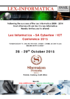Lex Informatica 2015 – Invite and Registration Form