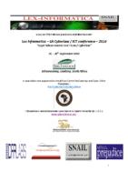lex Informatica 2014 – Programme- 25- 26 september 2014
