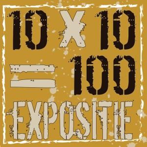10x10=100 EXPOSITIE LOGO