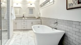 Bone Bright 3x6 Bathroom