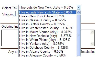 Nys Sales Tax >> Sales Taxes In The United States New York State Sales Tax