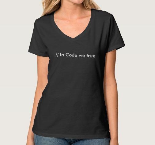 Δώρο T-Shirt InCodeWeTrust