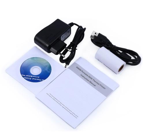 Bluetooth και USB mini εκτυπωτής 58mm Android - Windows