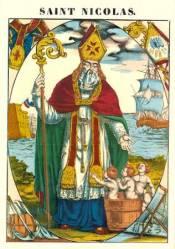 """Résultat de recherche d'images pour """"saint nicolas et 3 enfants"""""""