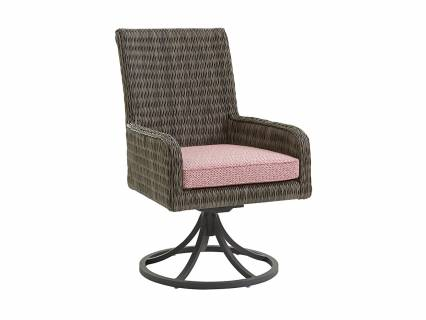 swivel rocker outdoor dining chairs event chair covers vancouver seating upscale home furnishings lexington arm