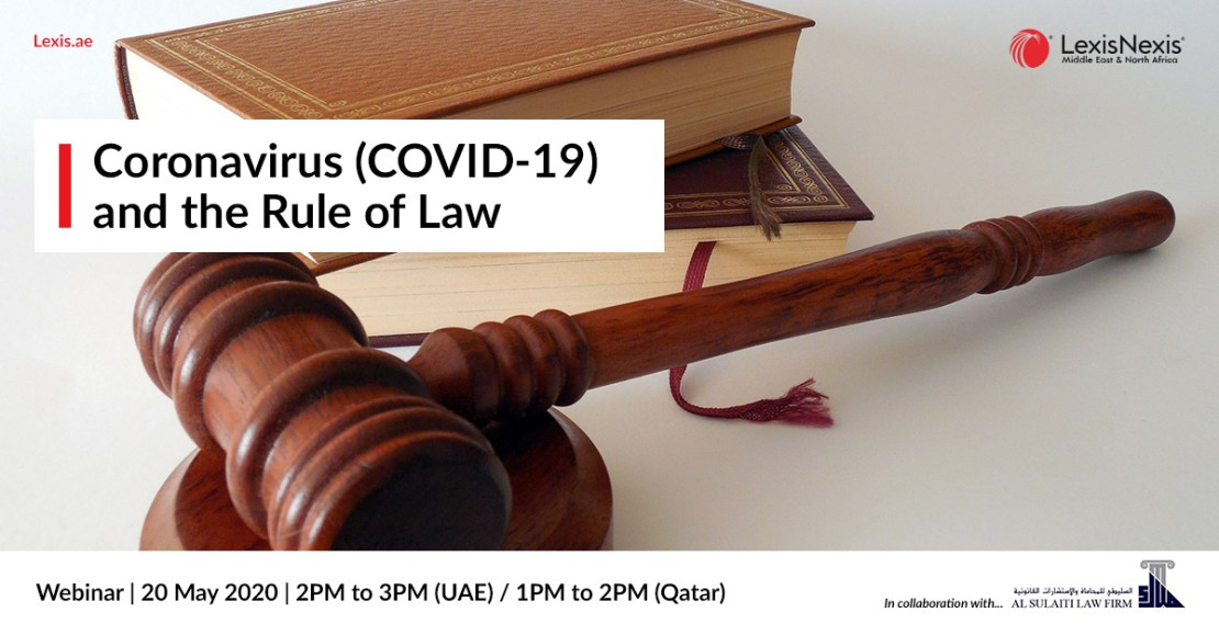 Webinar | Coronavirus (COVID-19) and the Rule of Law | 20 May 2020