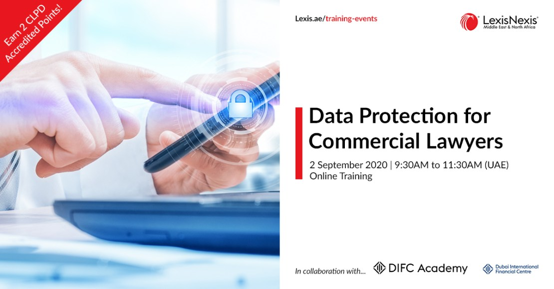Data Protection for Commercial Lawyers | Online Training | 2 September 2020 | 09:30AM to 11:30AM