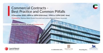 Commercial Contracts – Best Practice and Common Pitfalls | 8 December 2020 | 8PM to 10PM (KSA time)