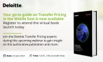 Virtual Book Launch | Transfer Pricing in the Middle East | 23 June 2021 | 12:30PM to 2PM (UAE time)