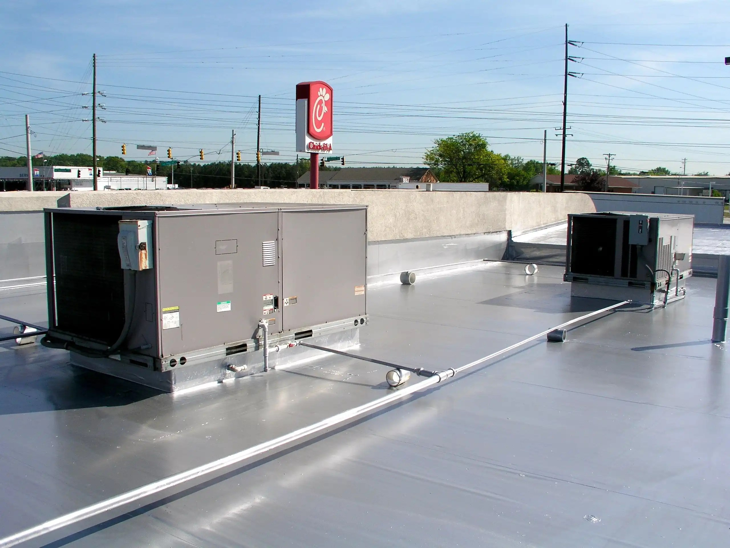 Single Ply Roof Coating @ Chick-fil-A