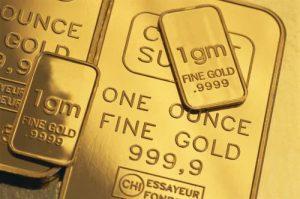 Close-up of Gold Bars ca. 2003