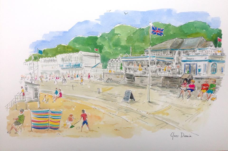Watercolour_Bournemouth