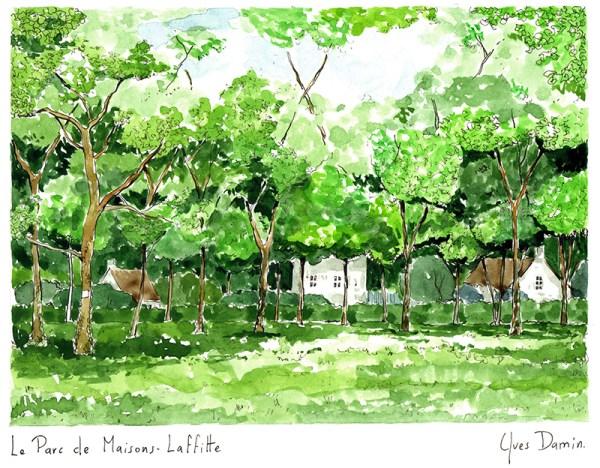 Parc de Maisons Laffitte