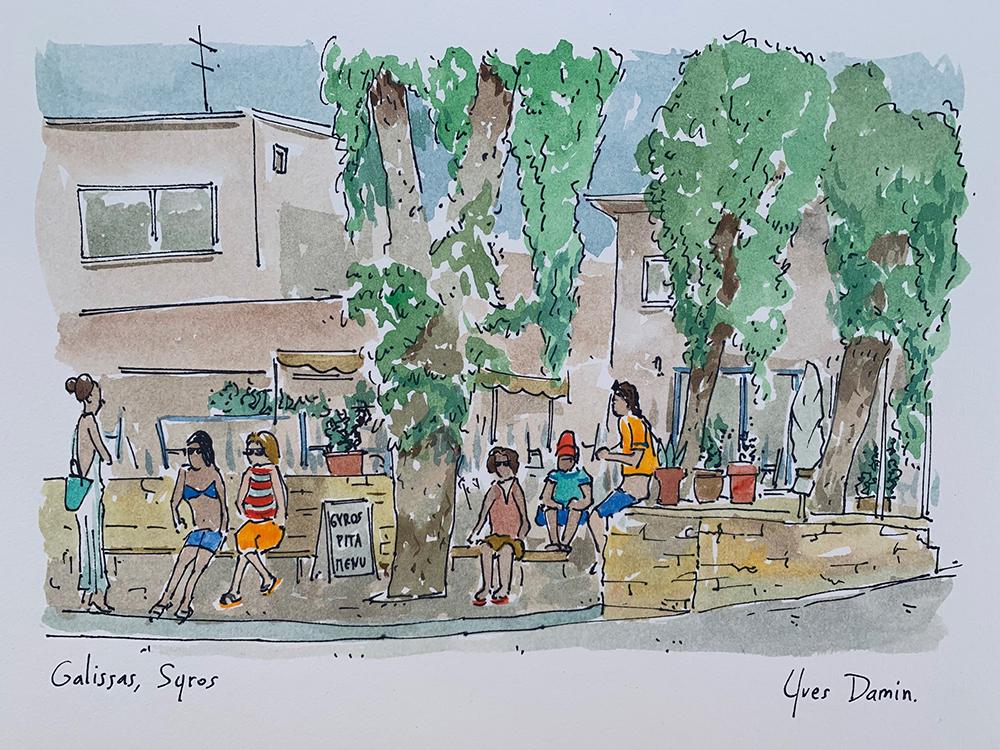 Ile grecque de Syros