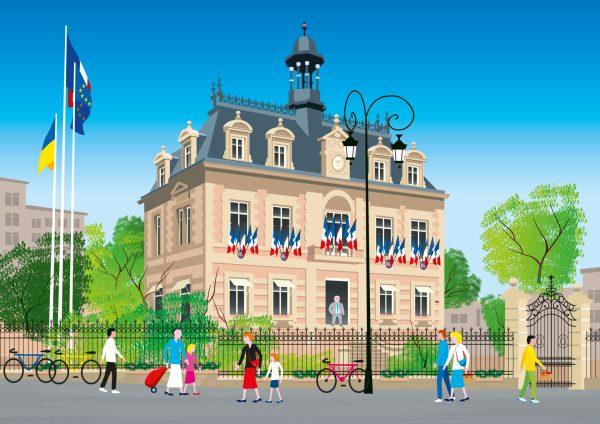 mairie de Maisons Laffitte