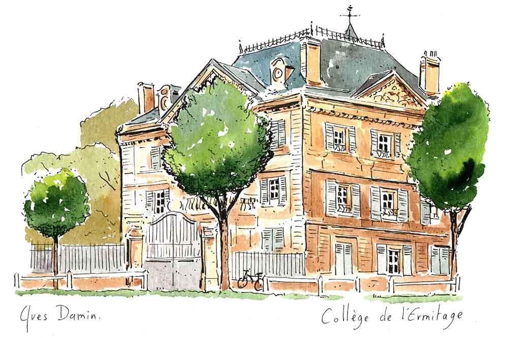 collège ermitage maisons laffitte