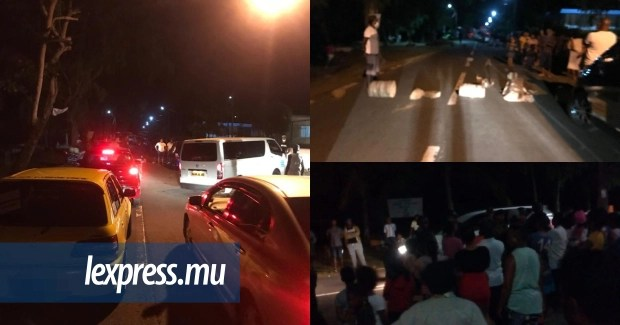 Manifestation des habitants du Morne, ce samedi soir