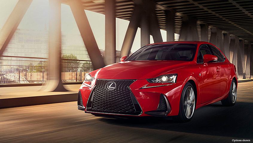 2018 Lexus IS Packages