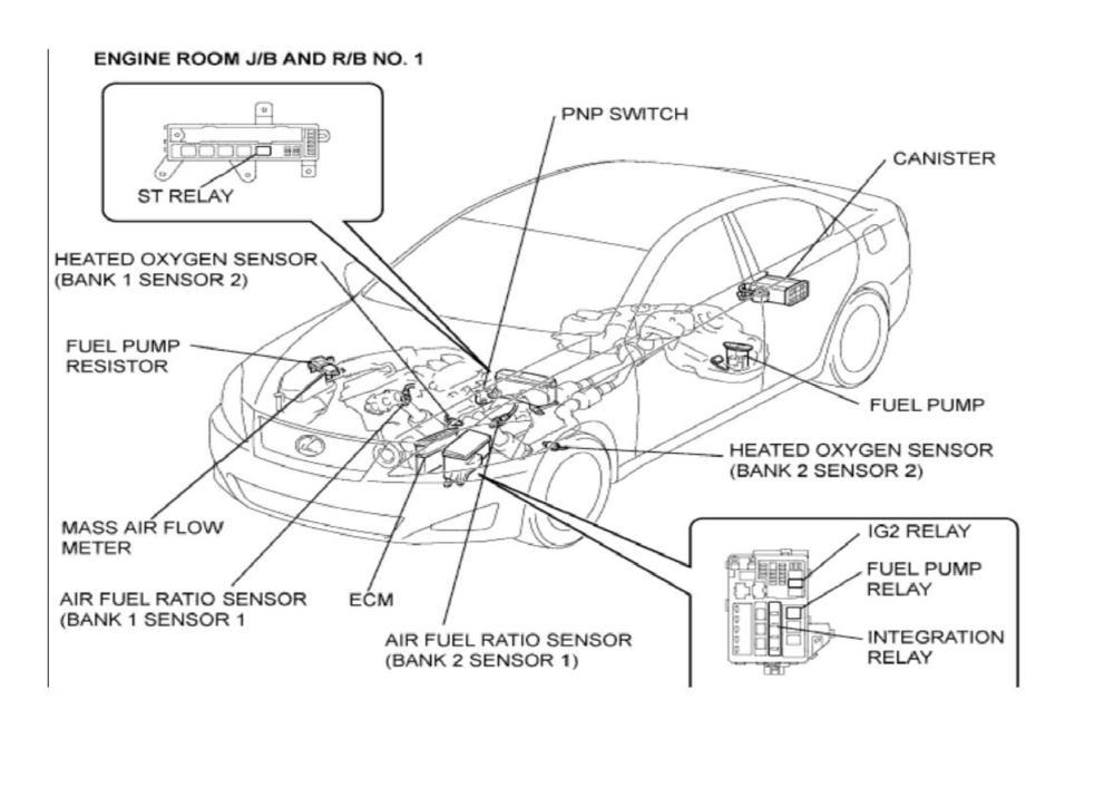 medium resolution of wiring diagram bank 1 sensor 2 location lexus es300 2002 lexus es3002000 lexus es300 engine diagram