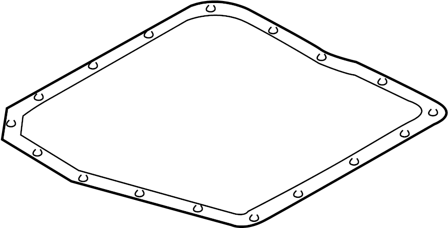 GASKET, AUTOMATIC TRANSAXLE OIL PAN made by Lexus. #3516821011