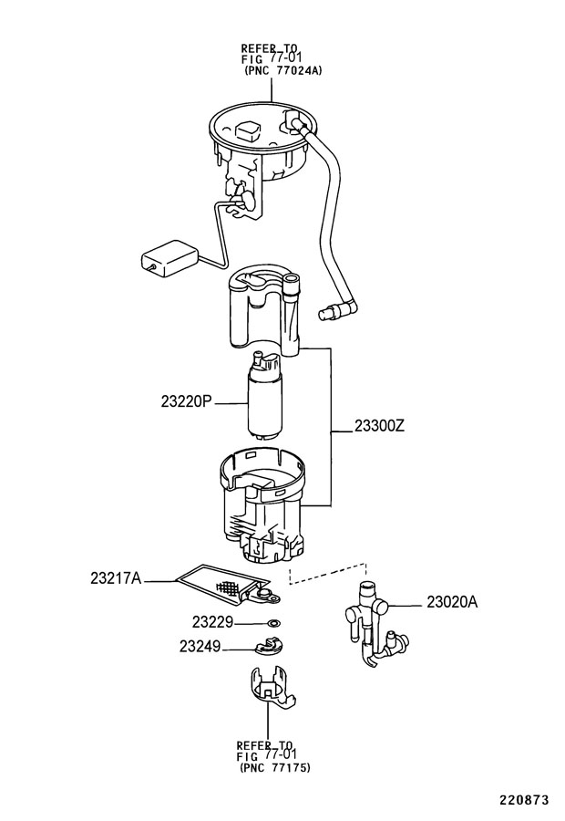 LEXUS FUEL INJECTION SYSTEM