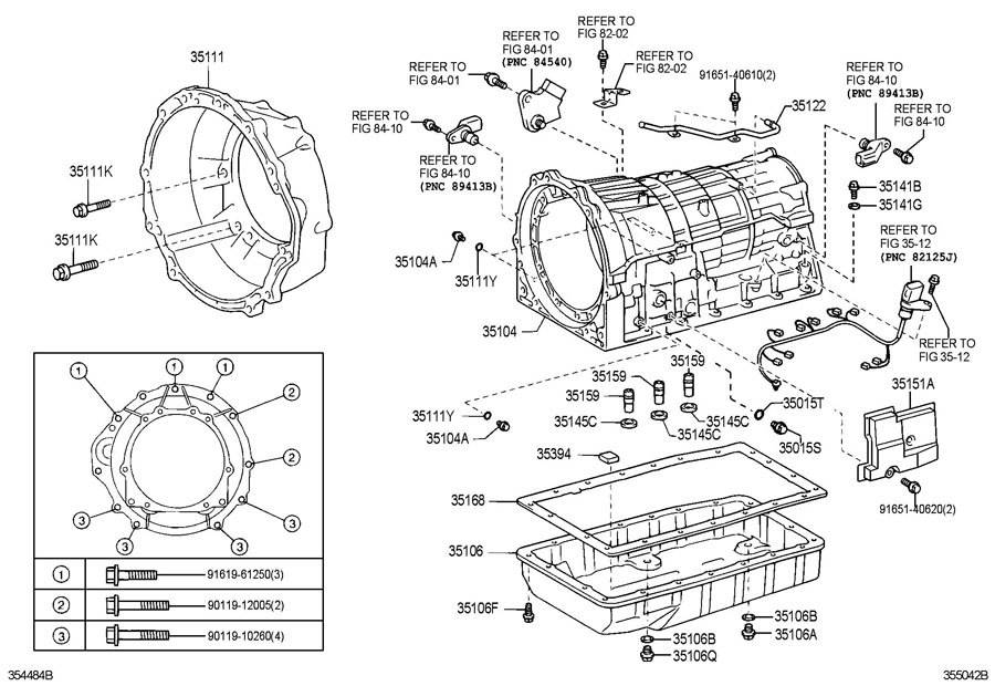 Toyota A340f Transmission Parts Diagram. Toyota. Auto
