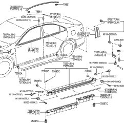 Lexus Rx300 Exhaust System Diagram 1998 Ford F150 Xl Radio Wiring Parts 28 Images 2004 Rx330 Park