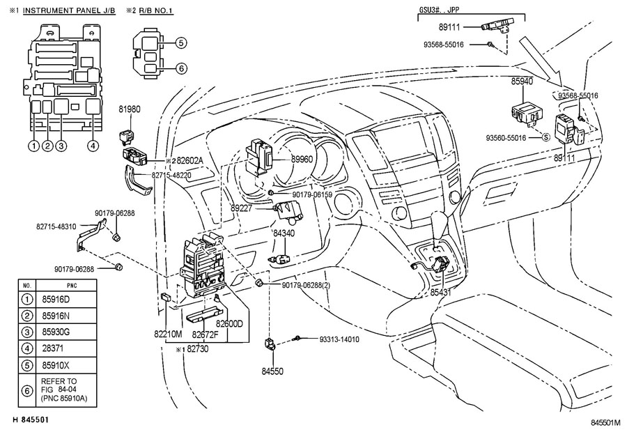 2012 Lexus Rx330 Fuse Box Diagrams • Wiring Diagram For Free