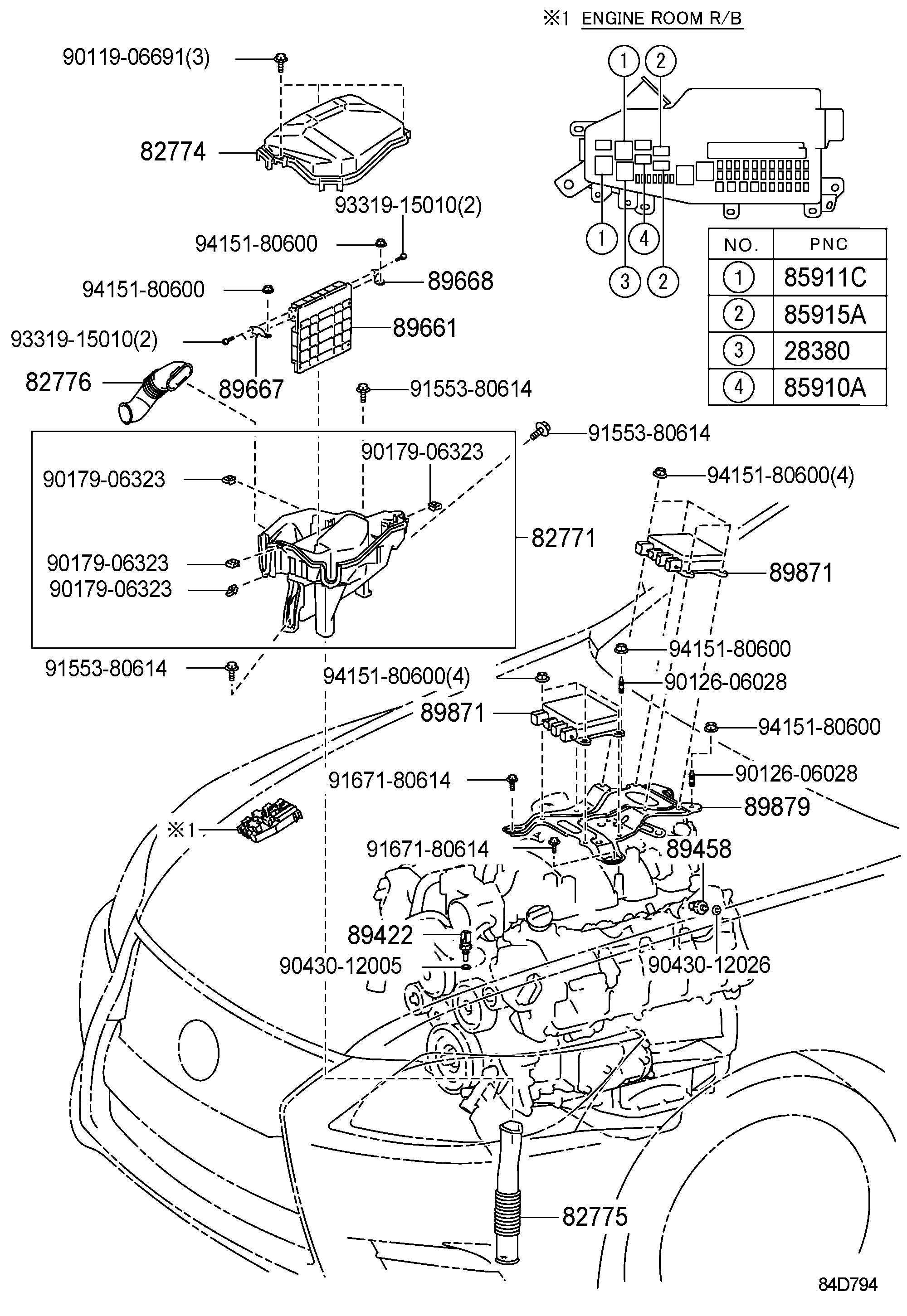 LEXUS LS460-460L ELECTRONIC FUEL INJECTION SYSTEM