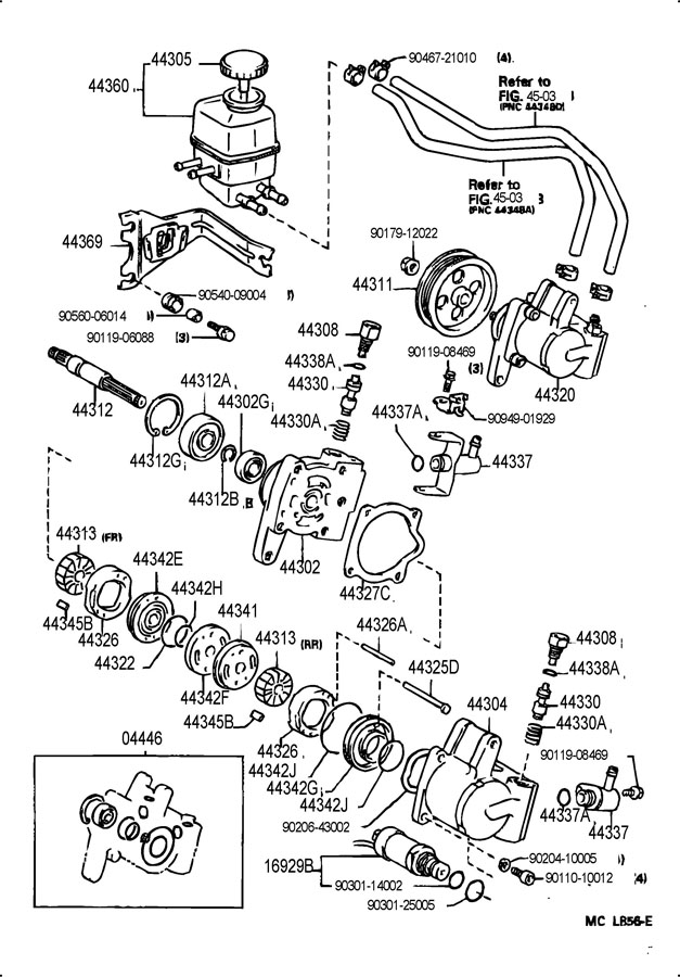 92 Camry Power Steering Diagram, 92, Free Engine Image For