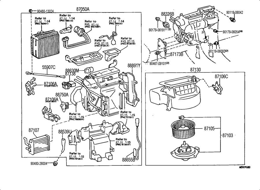 Lexus Engine Cooling Diagram