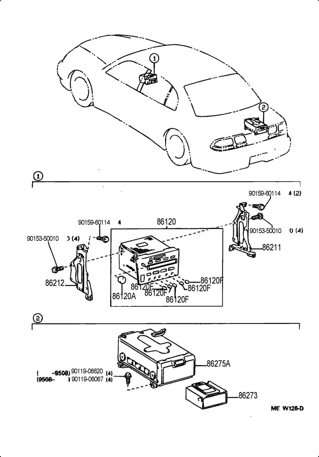 Service manual [Changeing Gear Shift Assembly 1995 Mercury