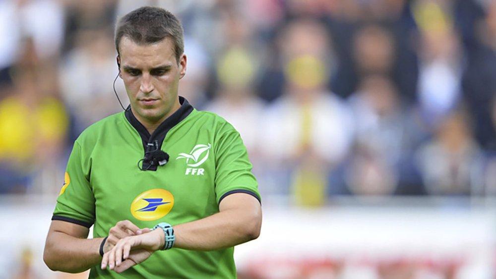 J13 Thomas Charabas et rugby top 14 xv de départ 15 france résultats classement arbitre programmation TV