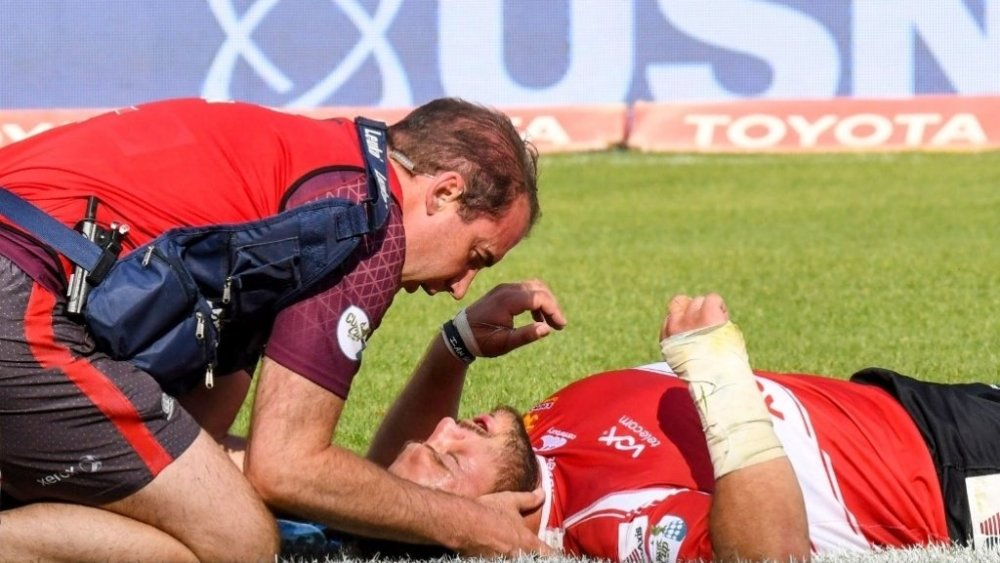 Julian Redelinghuys rugby international afrique du sud fin de carrière prématurée carrière
