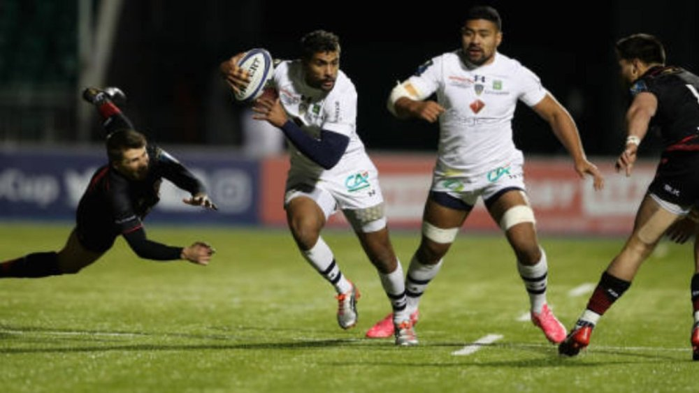 rugby top 14 wesley fofana absent trois mois clermont xv de départ 15