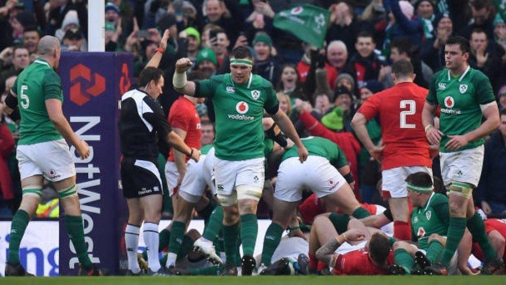 tournoi 6 nations l'irlande prend de l'avance rugby xv de départ 15