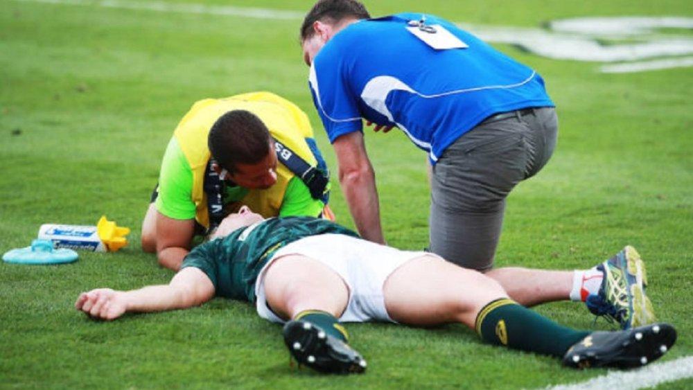 afrique du sud objectif zero blessure grave rugby international xv de départ 15